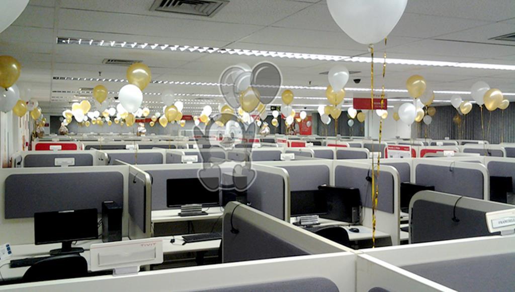 Decorações com balões em Baias